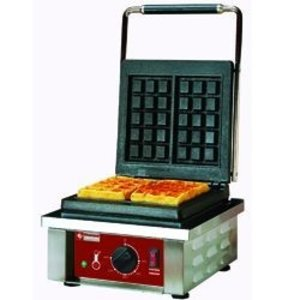 "Diamond Electrical waffle iron 2 pcs ""Brussels model 3x5 """
