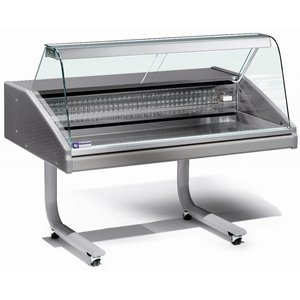 Diamond Vitrine Toonbank Gekoeld Vis 0 - 2 graden 1500x980xh1280