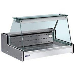Diamond Vitrine Toonbank Gekoeld - 1000x750xh650