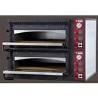 Diamond Elektrische oven voor pizza 2 x 4 pizzas | 660x660x150 mm
