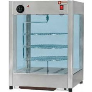 Diamond Anzeigeeinheiten für Pizza | 30 bis 90 ° C | 450x450xh610