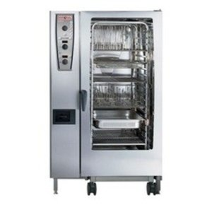 Rational The combi steamer | gas | 22kW | 10 x 1 / 1GN or 20 x 1 / 2GN