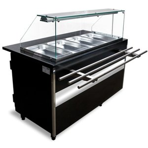 XXLselect Display Units | 4x GN1 / 1 | 120L | + 30 / + 90 STC