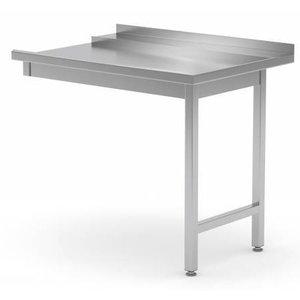 XXLselect De afvoer tafel voor vaatwassers. Alle stalen meubelen verkrijgbaar in elke maat!