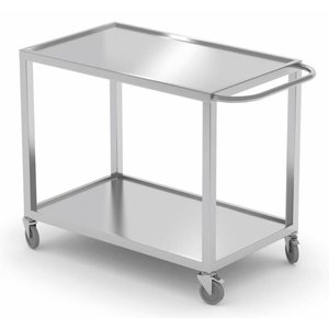 XXLselect Serving trolley. All steel furniture available in any size!