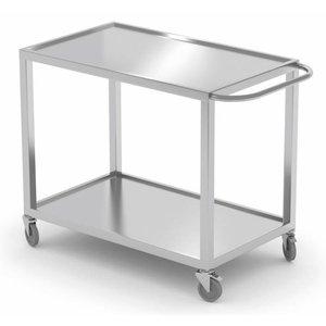 XXLselect Wózek kelnerski. Wszystkie meble ze stali dostępne w dowolnym rozmiarze!