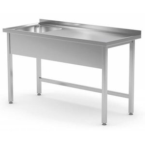 XXLselect Table of Basin. All steel furniture available in any size!