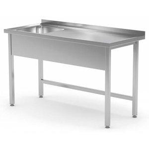XXLselect Stół ze Zlewem. Wszystkie meble ze stali dostępne w dowolnym rozmiarze!