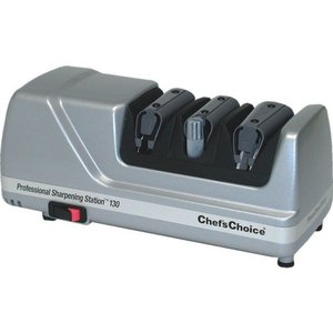 TOM-GAST Electric knife sharpener, three-stage | CHEF'S CHOICE, Professional Sharpening Station 130