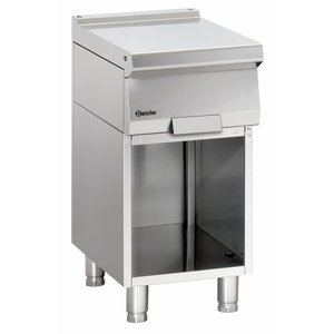 Bartscher Werktafel met open onderbouw Serie 700