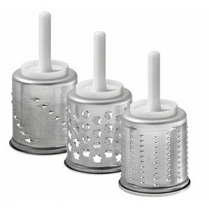 Bartscher Vegetable slicer drums set for KitchenAid