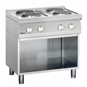 Bartscher Electric stove, 4 hot-plates Series 700