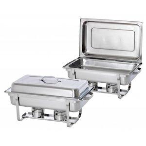 Bartscher Chafing Dish, 1/1GN, Twin Pack Set