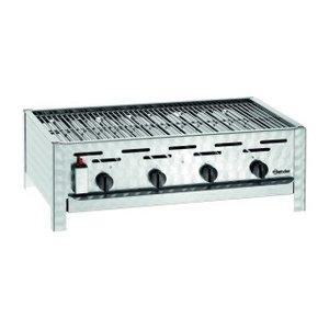 Bartscher 4-burner gas grill | 14.7 kW