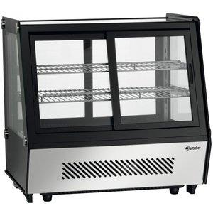 Bartscher Refrigerated with sliding doors | 120L