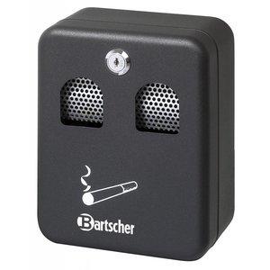 Bartscher Popielniczka ścienna, czarna - 1 litr