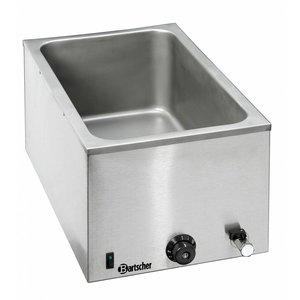 Bartscher Food warmer / Bain Marie with faucet