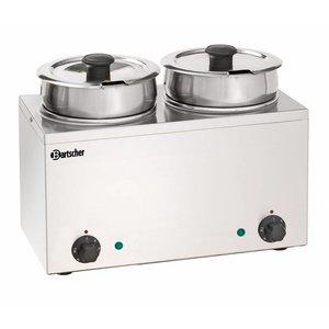 Bartscher Hotpot - Bain Marie - 2 x 3,5 liter