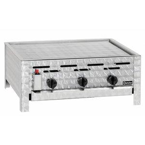 Bartscher Gas combi table-top grill