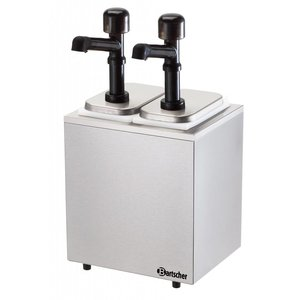 Bartscher Pump sauce dispenser, 2 dispensers/pumps