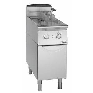 Bartscher Electric standing deep fat fryer, 2 basins each 8 litres