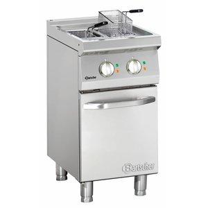 Bartscher Electric standing deep fat fryer with 2 basins Series 700