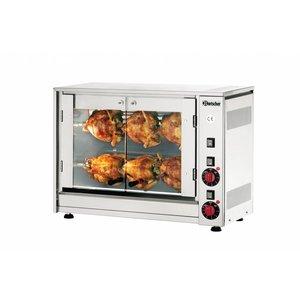 Bartscher Electric chicken grill P6