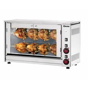 Bartscher Rożen do kurczaków elektryczny - 8 kurczaków - 3,5kW