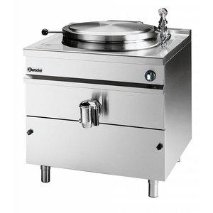 Bartscher Ketel brouwen druk elektrisch, indirecte verwarming   220L