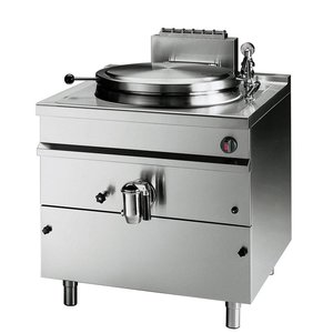 Bartscher Gas boiling kettle, indirect heating, 300 Litres