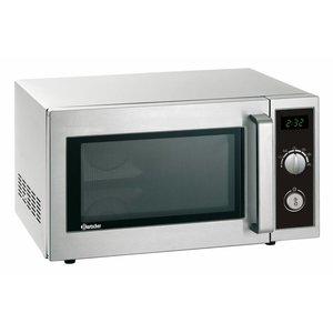 Bartscher Magnetron oven - 1000 Watt - 25 liter - ANALOOG