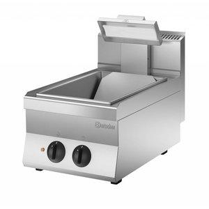 Bartscher Frites-warmhoudapparaat met warmtestraler