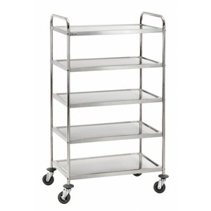Bartscher Trolley TS 500 with 5 shelves