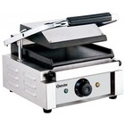Bartscher Contact Grill Electric - smooth plates | 1800W
