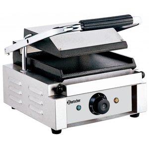 Bartscher Elektrische contact grill, grillplaten glad