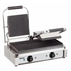 Bartscher Electric double contact grill, grill plates grooved