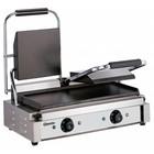 Bartscher Elektrische dubbele contact grill, grillplaten glad