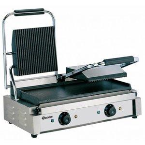 Bartscher Elektrische dubbele contact grill