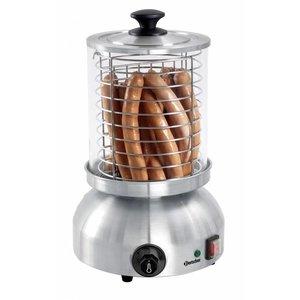 Bartscher Elektrische hotdog koker, cylinder 200x240mm