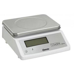 Bartscher Waga kuchenna elektroniczna - pomiar wagi do 15 kg - podziałka 5 g