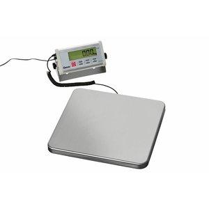 Bartscher Waga elektroniczna cyfrowa - zakres pomiaru do 150 kg - podziałka 50 g
