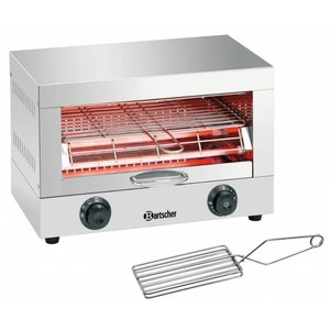 Bartscher Toaster / toaster stainless steel with timer function | 230 V | 440x260x290 mm