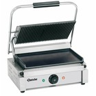 """Bartscher Contact Grill Electric """"Panini"""" - Upper gegroefde, Lower Smooth 