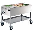 Bartscher Food service cart 3 x 1/1 GN, depth: 200 mm