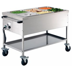Bartscher Food service cart 3 x 1/1 GN, depth: 200 mm