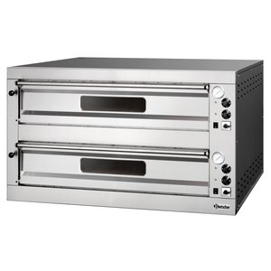 Bartscher Pizza Oven Dubbel Elektrisch | 2 x 9 Pizza's 33 cm ET 205