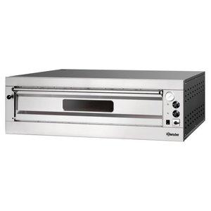 Bartscher Pizza Oven Enkel Elektrisch | 9 Pizza's 33 cm ET 105