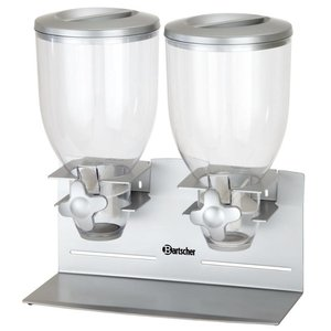 Bartscher Cereal dispenser, double