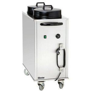 Bartscher Bordenwagen, elektrisch verwarmd