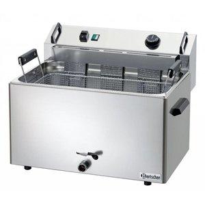 Bartscher Fryer, 1 kamer 16 liter
